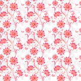 Elegance Seamless color pattern on background Royalty Free Stock Images