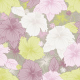 Elegance seamless pastel flower pattern Royalty Free Stock Photography