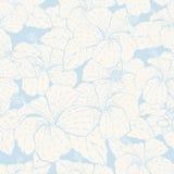 Elegance seamless pastel flower pattern Royalty Free Stock Image