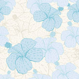 Elegance seamless pastel flower pattern.  Stock Photos