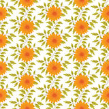Elegance Seamless pattern with floral background Royalty Free Stock Images