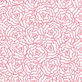 Elegance Seamless pattern with flowers Royalty Free Stock Photography