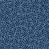 Elegance Seamless pattern with flowers Stock Photo