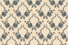 Elegance Seamless pattern with flowers ornament Stock Images