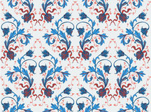 Elegance Seamless pattern with flowers ornament Stock Photos
