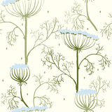 Elegance Seamless pattern with flowers, Ukraine Stock Photo