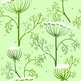 Elegance Seamless pattern with flowers, Ukraine Royalty Free Stock Image
