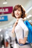 Elegance shopping Stock Photo