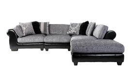 Elegance sofa conner. Nice and soft elegance fabric sofa conner best to fit your living room or waiting room conner Royalty Free Stock Photos