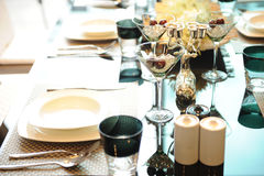 Elegance table set up Royalty Free Stock Photography