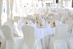 Elegance table set up Stock Images