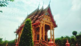 Beautiful Thai temples Royalty Free Stock Photo