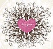 Elegance Valentine Background Stock Photography