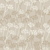 Elegance vector seamless floral pattern Royalty Free Stock Photo