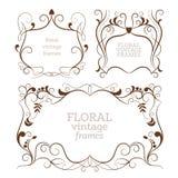 Elegance vintage frames Royalty Free Stock Image