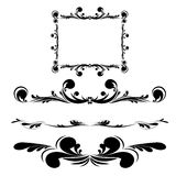 Elegance vintage frames Royalty Free Stock Photography