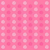 Elegance wallpaper with of pink roses on floral background Stock Image