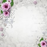 Elegance wedding background Stock Images