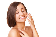 Elegance woman with healthy clean skin Stock Photo