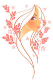 Elegance women. Vector illustration of elegance women Stock Images