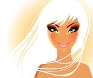 Elegance women Royalty Free Stock Photo