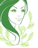 Elegance women. Vector illustration of elegance women Stock Photography