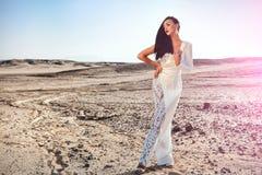Eleganci i mody model Obraz Royalty Free