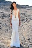 Eleganci i mody model Obrazy Royalty Free