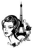 Elegancia francesa Fotos de archivo