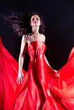 Elegancia roja Foto de archivo libre de regalías