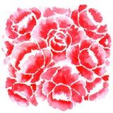 Elegancja Bezszwowy wzór z kwiatami royalty ilustracja