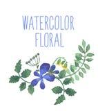 Elegancja Bezszwowy wzór z kwiatami ilustracja wektor