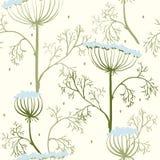Elegancja Bezszwowy wzór z kwiatami, Ukraina ilustracji
