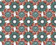Elegancja Bezszwowy wzór z kwiecistym tłem Dekoracyjny ornamentu tło dla tkaniny, tkanina, opakunkowy papier, karta, invitati royalty ilustracja