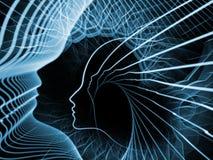 Elegancja dusza i umysł ilustracji