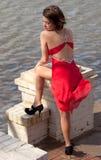 Elegancja i Breeziness Zdjęcia Royalty Free