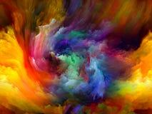 Elegancja koloru ruch ilustracji