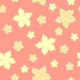 elegancja kwiatu bezszwowy wzór ilustracja wektor