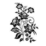 Elegancja wzór z kwiatu narcyzem royalty ilustracja