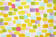 Elegancka biel ściana z wiele varicoloured muśnięć uderzeniami obraz stock