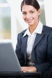 elegancka biznesowej kobieta Fotografia Stock