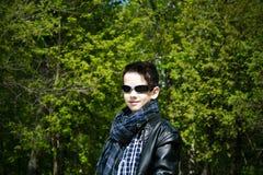 Elegancka chłopiec Obraz Stock
