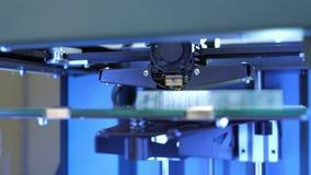 Elegancka 3d drukarka przy pracą zdjęcie wideo