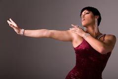elegancka drag queen Zdjęcie Royalty Free