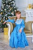 Elegancka dzieciak dziewczyna zdjęcie royalty free