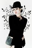 elegancka dziewczyna Obraz Royalty Free