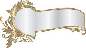 Elegancka faborek rama w baroku stylu Zdjęcie Stock