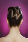 Elegancka fryzura Obrazy Royalty Free