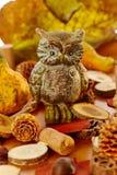 Elegancka jesieni dekoracja Fotografia Royalty Free