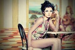 elegancka kobieta Zdjęcia Royalty Free